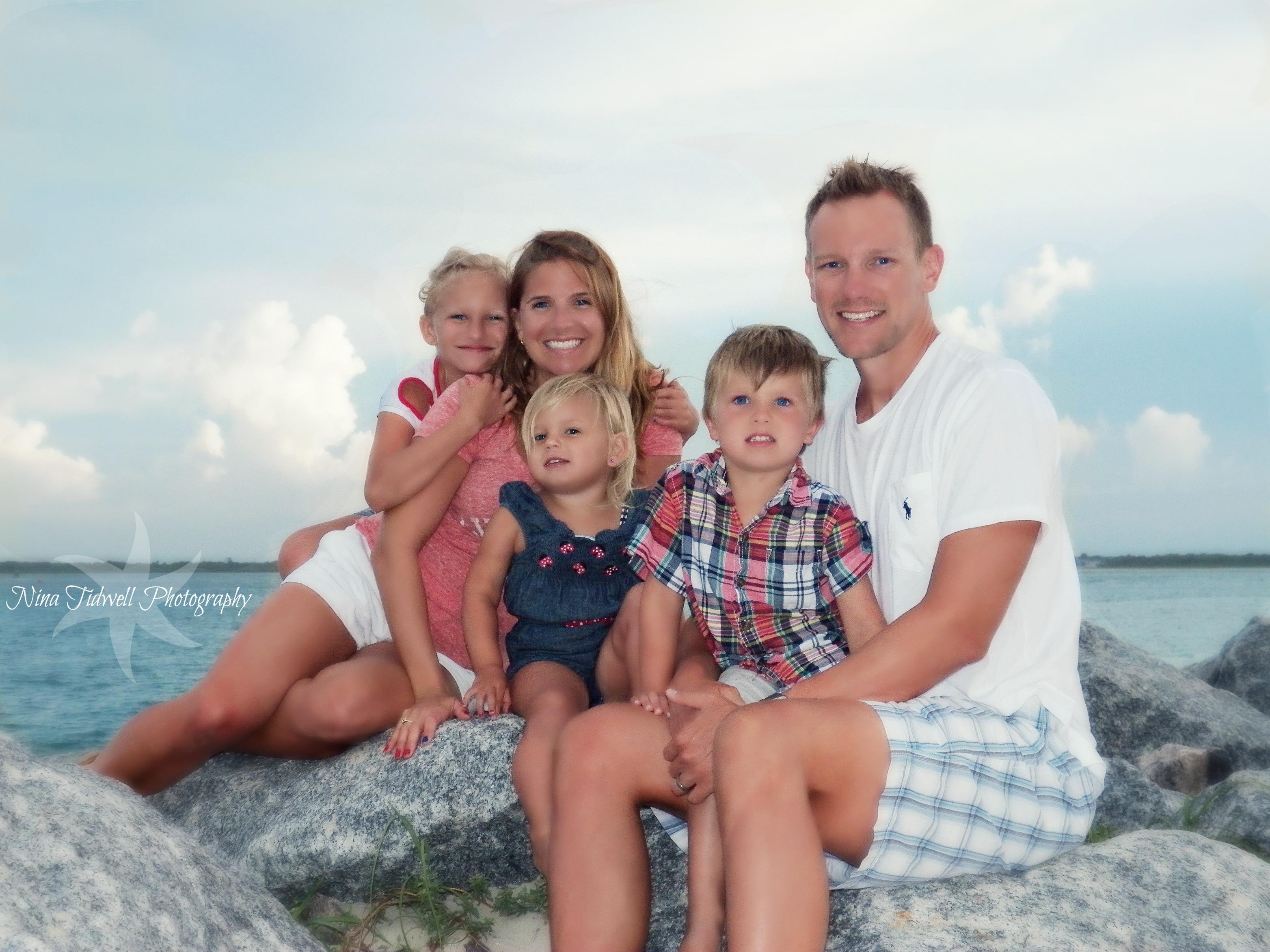 Family Beach Pictures Florida Family Beach Portraits