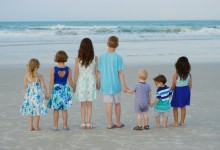 Family Beach Portraits – Ponce Inlet, FL