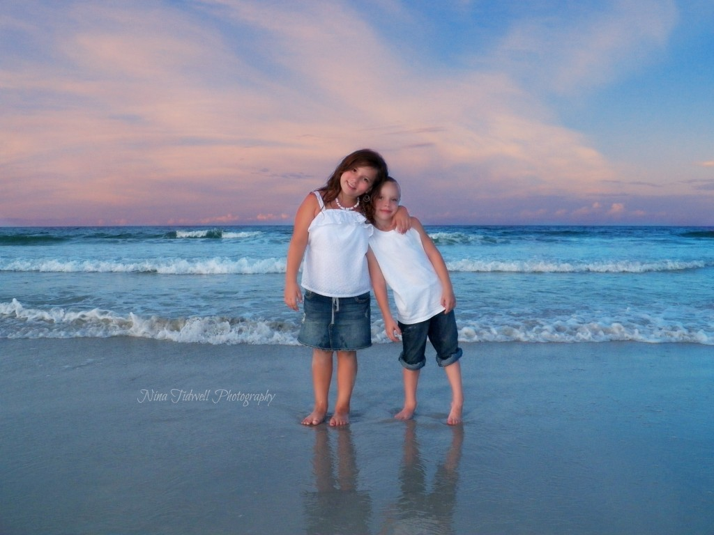 Family beach portraits ponce inlet, and daytona beach Nina Tidwell Photography