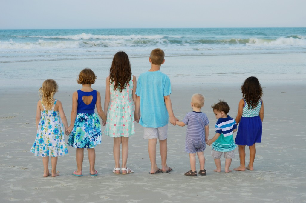Children's Family Beach Photography Florida