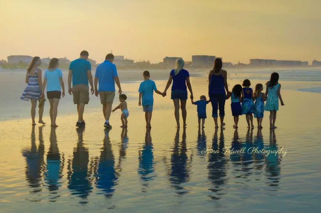 Family Beach Photography Nina Tidwell Photography